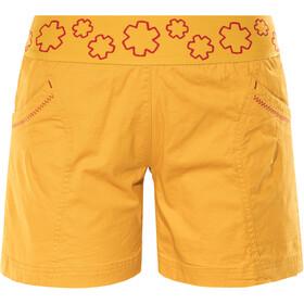 Ocun Pantera Naiset Lyhyet housut , keltainen
